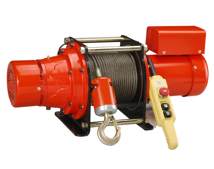RC - electric winch , electric hoist , 200kg ~ 2000kg , 電動吊車 , 電動捲揚機 , 220v ~ 240v , 8*100m rope